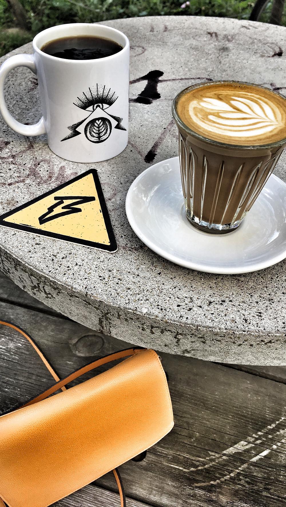 Black & Yellow coffee bar in Antwerp