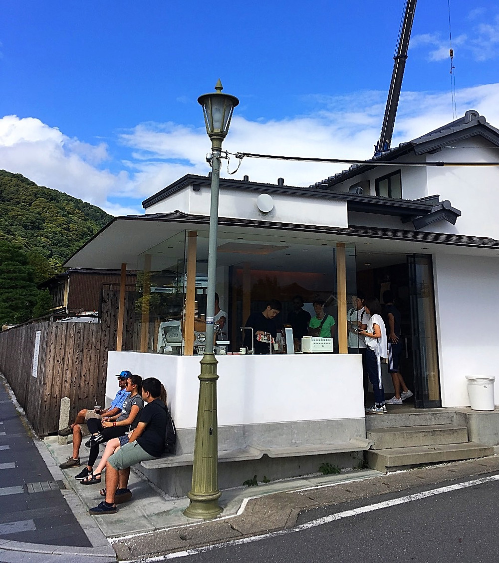 % Arabica Coffee in Kyoto Japan