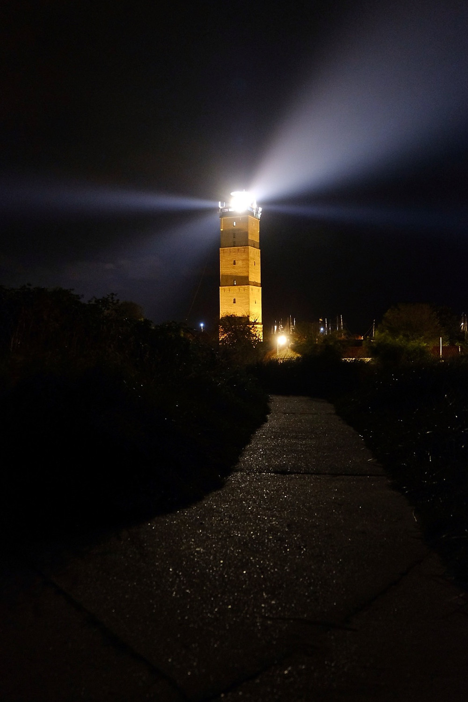 Brandaris lighthouse at night Terschelling