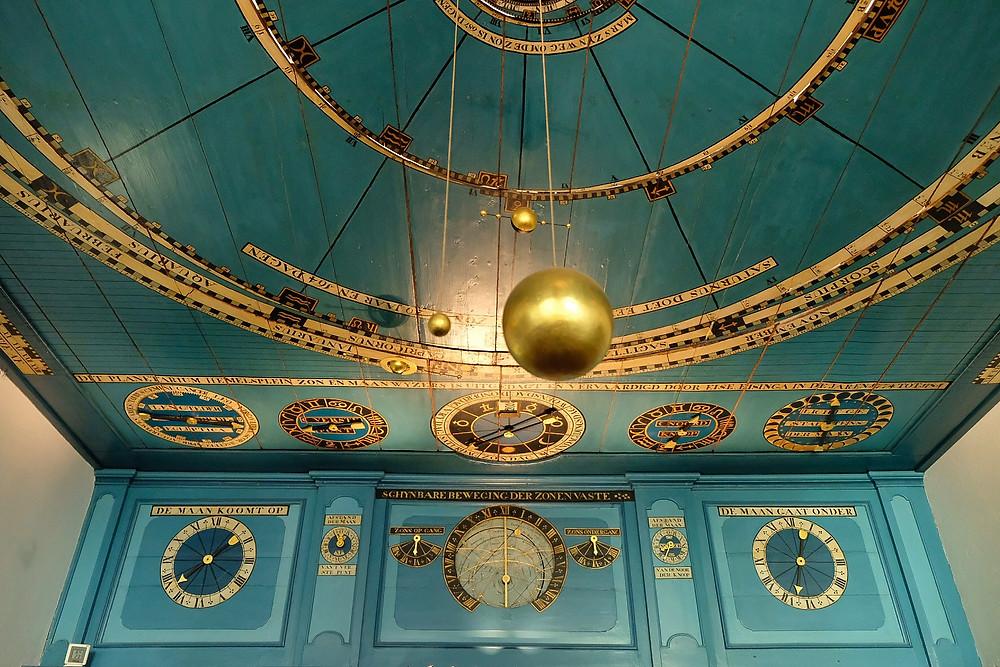 Planetarium Eise Eisinga in Franeker, Friesland