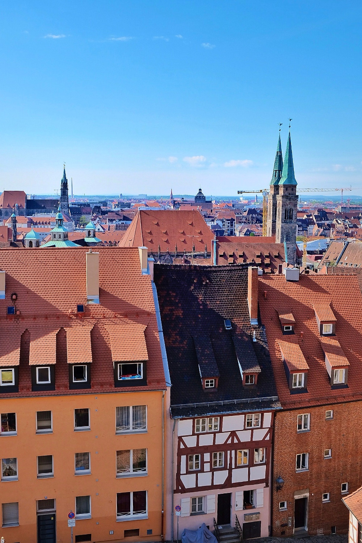 View over Nürnberg