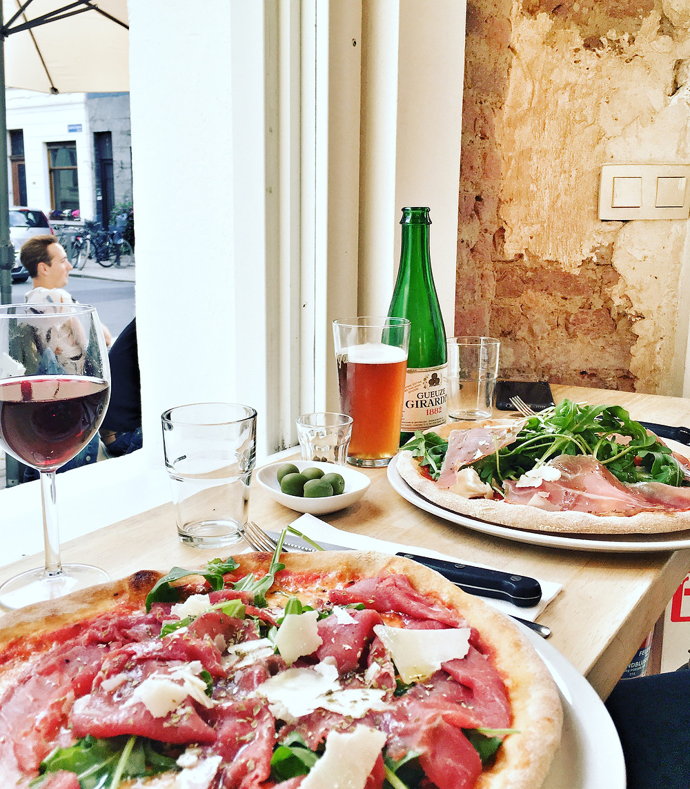 Pizza at Restaurant Orso in Antwerp