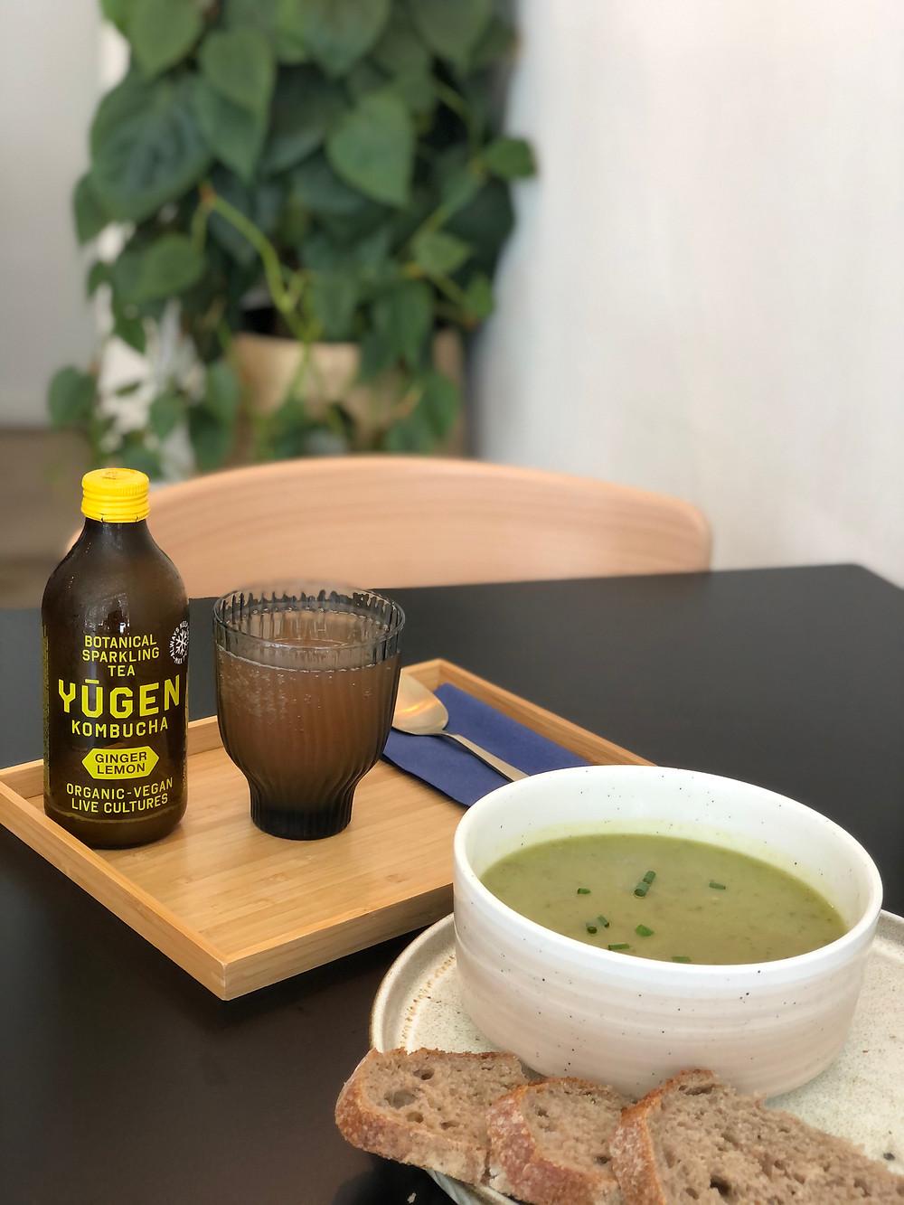 Vegetarian lunch at Lief in Mechelen