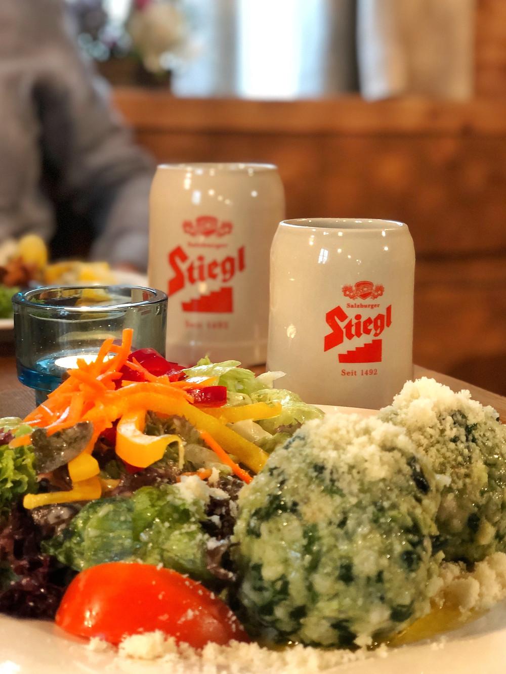 Food at Restaurant Zum Zirkelwirt Salzburg