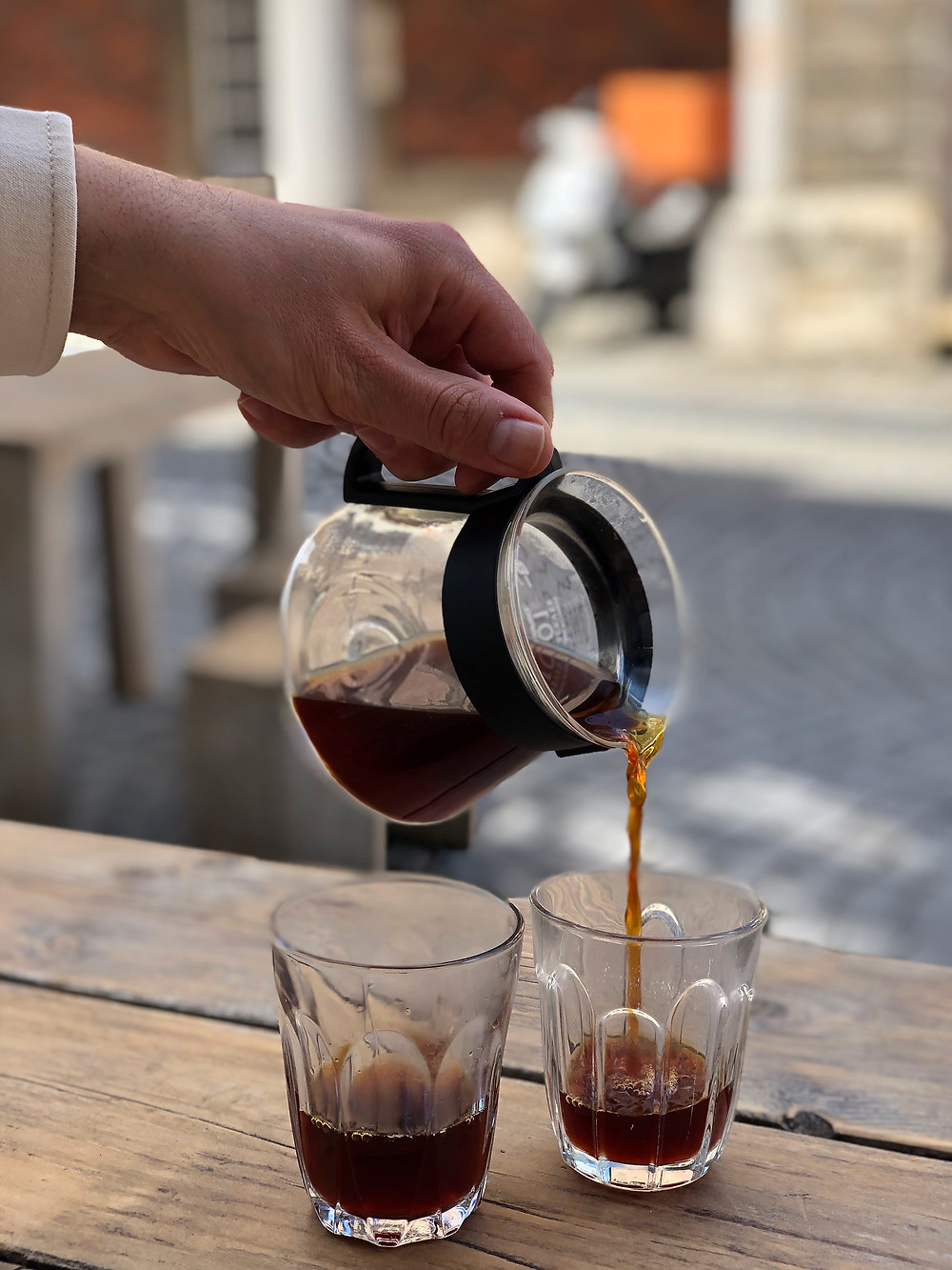 Coffee at Noir Coffeebar Leuven