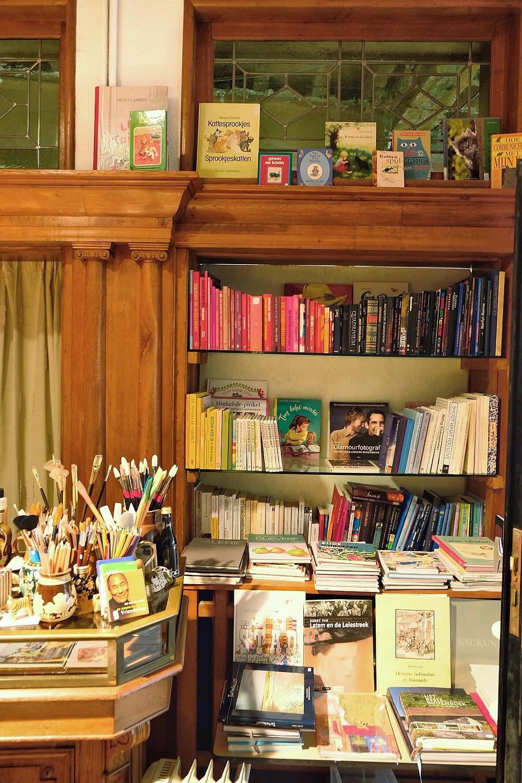 Books at De Grote Kat in Lier