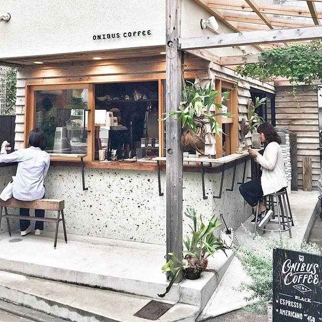 Onibus Coffee in Tokyo Japan