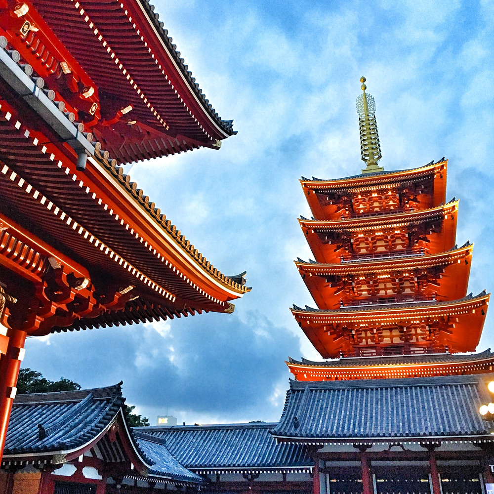 Sensõ-ji Temple, Tokyo