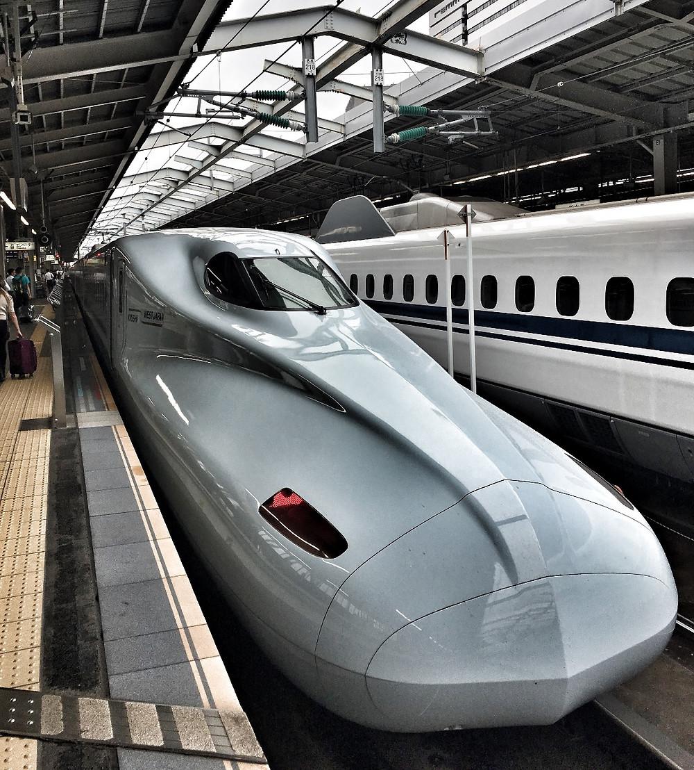 JR Railway Shinkansen in Japan