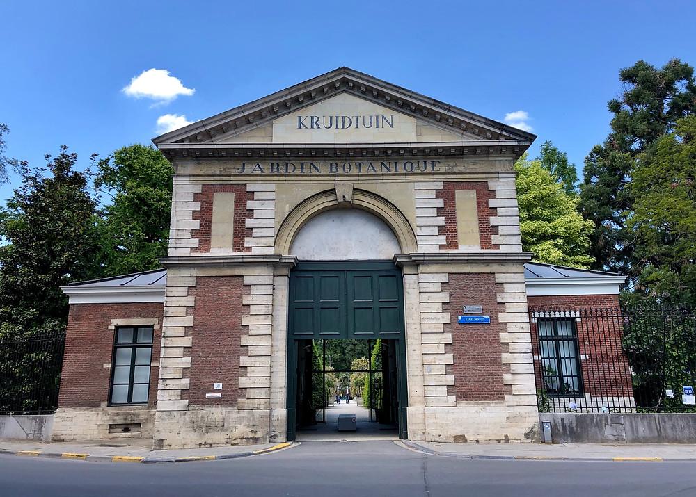 Entrance Kruidtuin Leuven