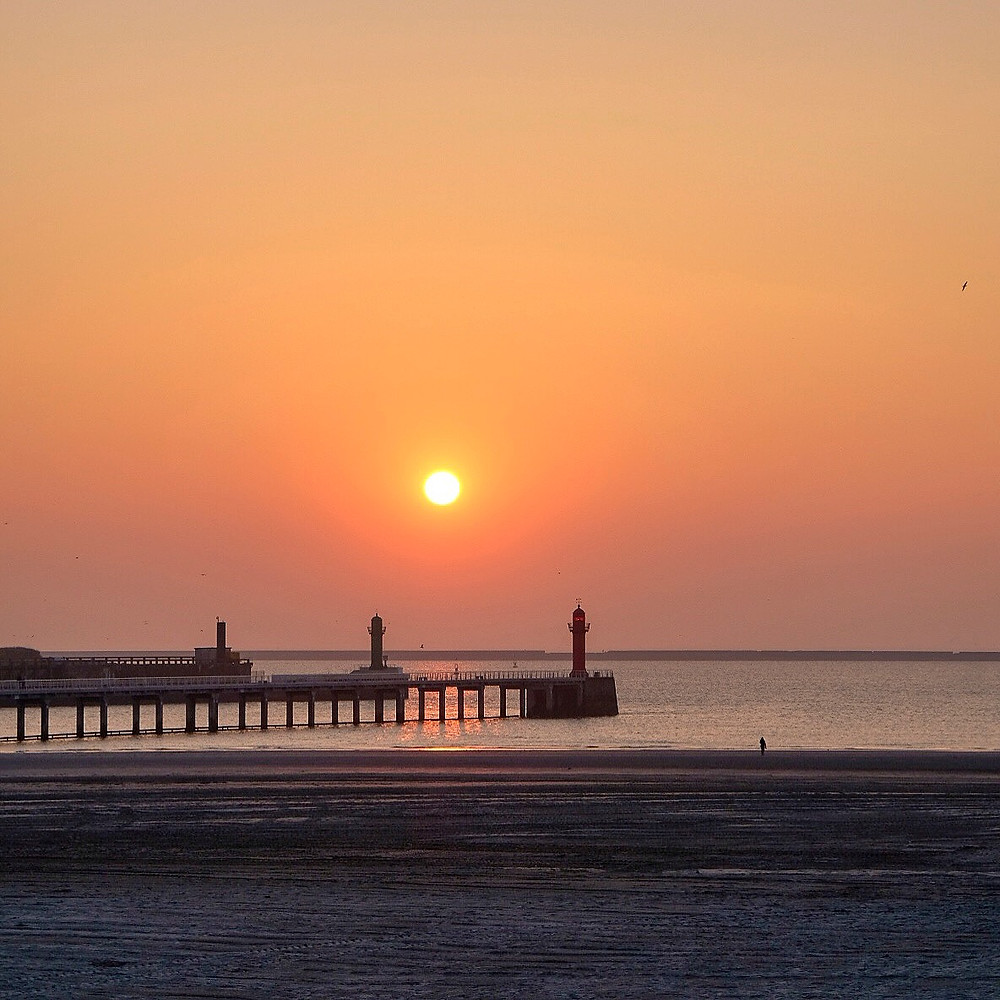 Sunset Boulogne-sur-Mer