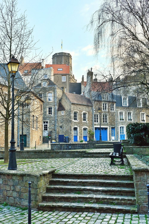Streets of Boulogne-sur-Mer France