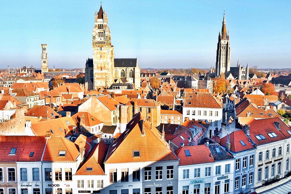 View over Bruges