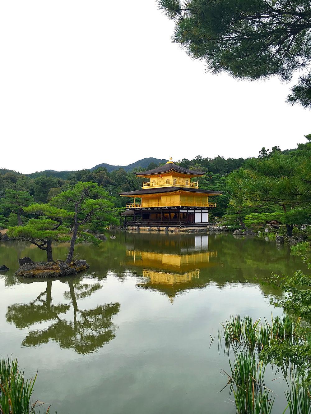 Kinkaku-ji Temple in Kyoto Japan