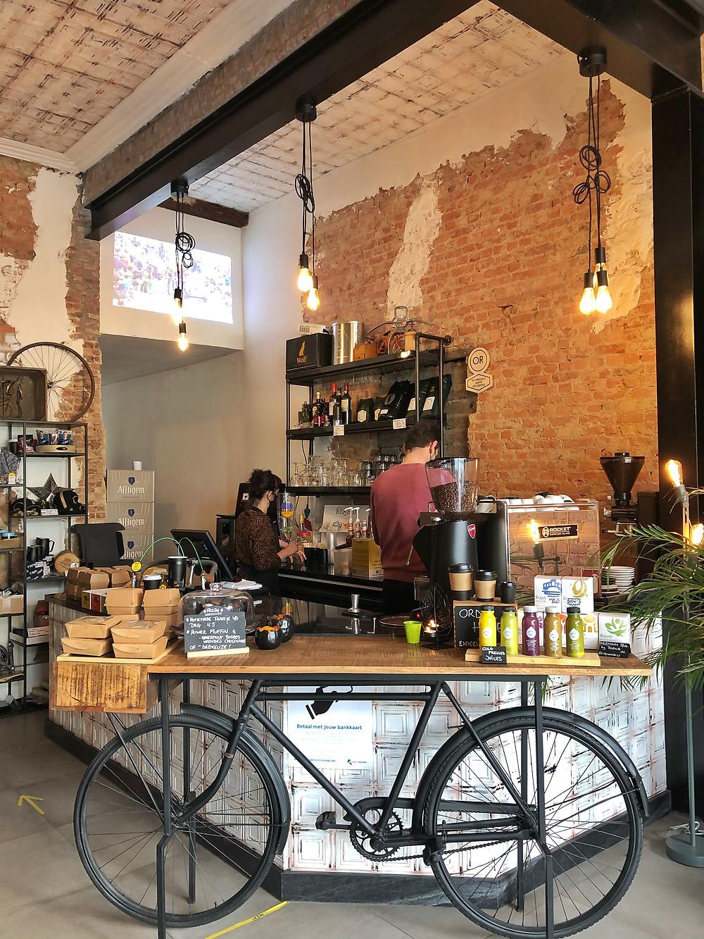 Coffee bar Manuvèl Sint-Niklaas