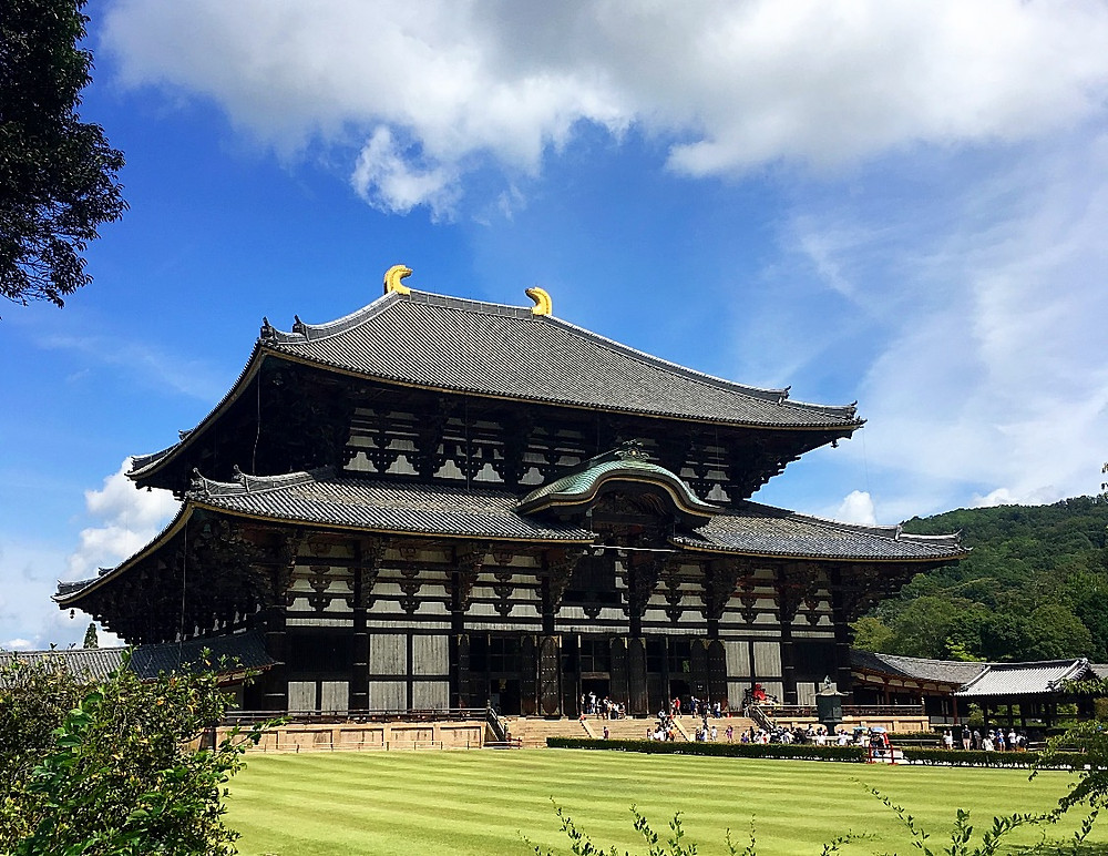 Todai-ji Temple in Nara Japan