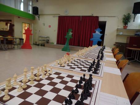 Eerste schaakavond 2018-2019