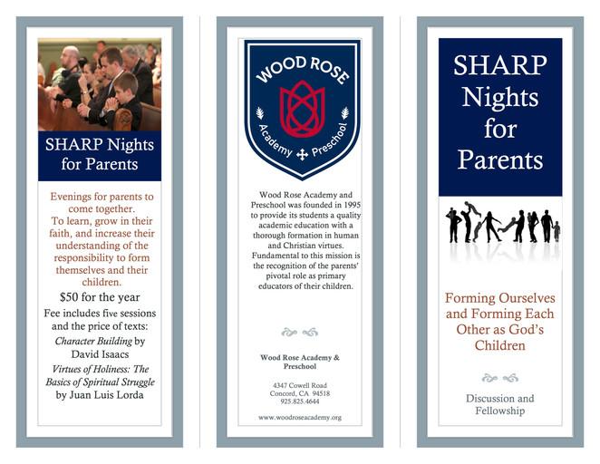 SHARP Nights to enrich SHARP Parents