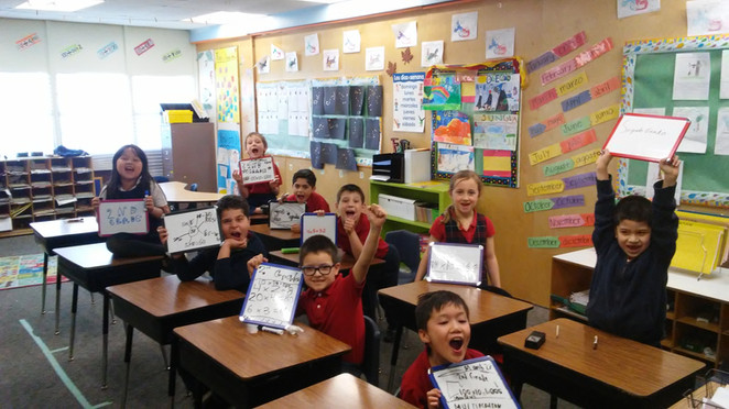 Mini-whiteboards increase learning & engagement
