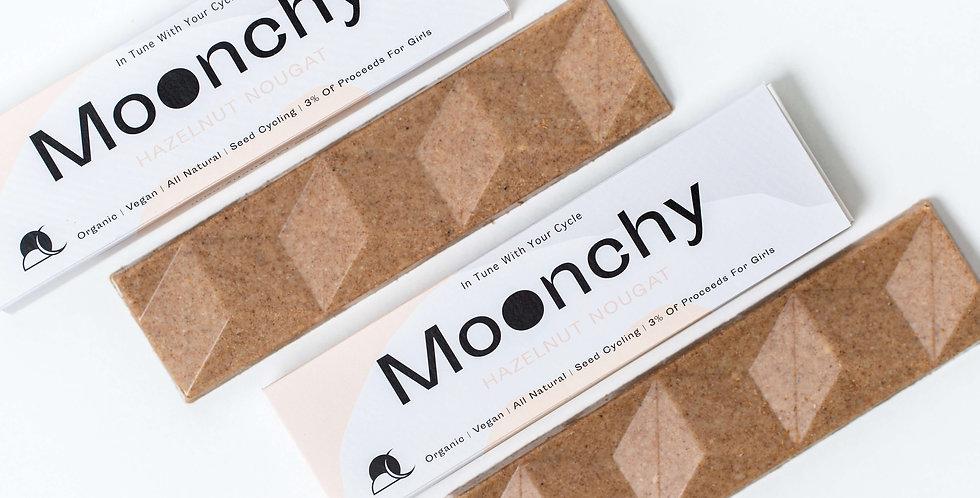 Moonchy Bar Hazelnut Nougat