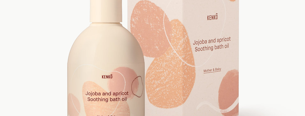 Jojoba and Apricot Soothing bath oil mother & baby