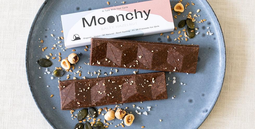 Moonchy Bar Salty Hazelnut