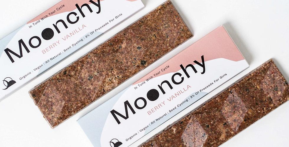 Moonchy Bar Berry Vanilla