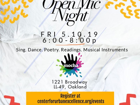 Open Mic Night at Museum of Children's Arts FRI. 5.10.19