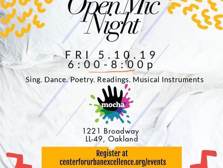 Open Mic Night at Museum of Children's Arts FRI. 5.10.19