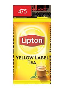 Lipton Yellow Label Packet Tea 475 gm