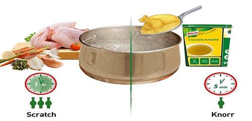 Knorr Chicken Stock Powder (1x12Kg)
