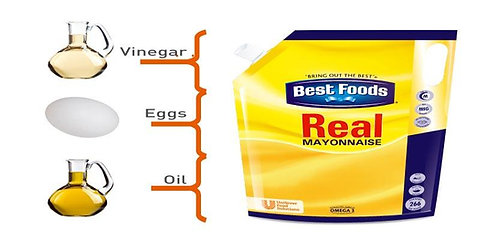 Real Mayonnaise 4 ltr x 4