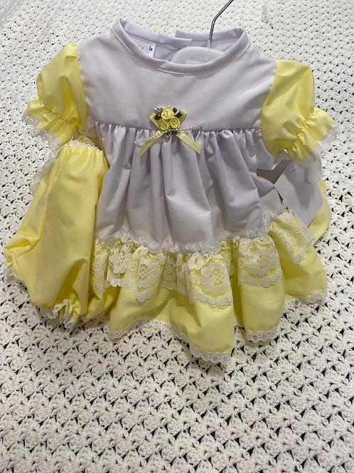 Frilly Dress & Pants   701