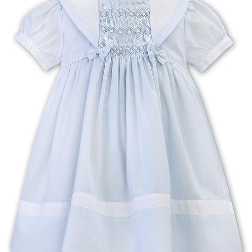 Sarah Louise Sailor Dress with Hand Smocking