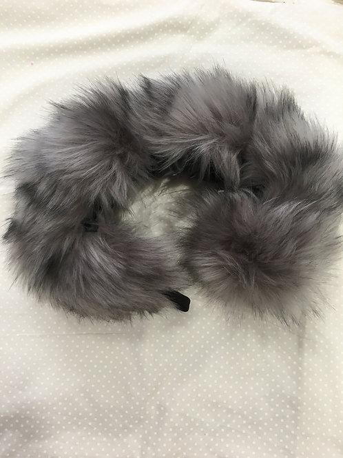 Pram Fur Grey