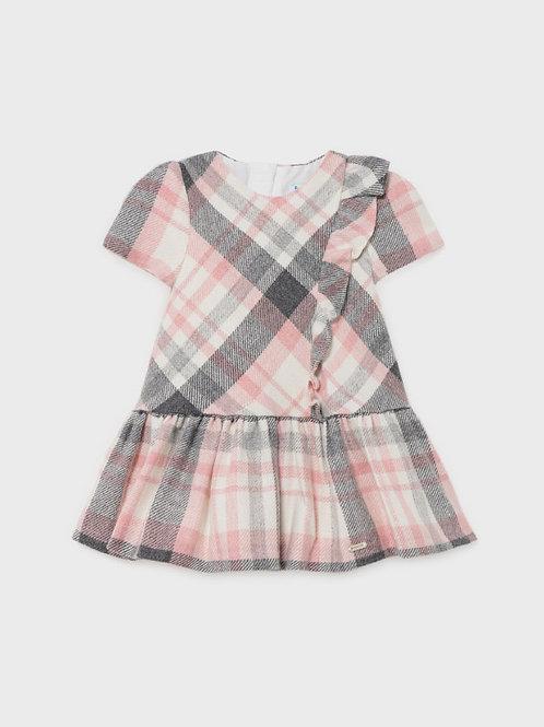 2906 Mayoral Plaid Dress