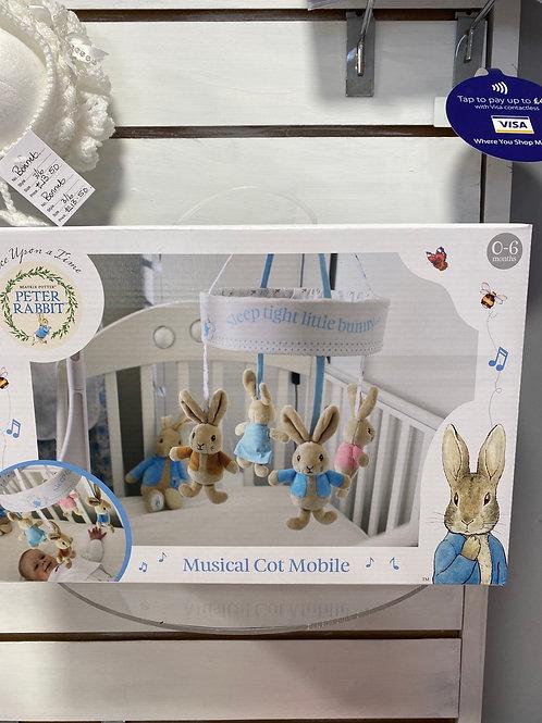 Peter Rabbit Musical Cot Mobile