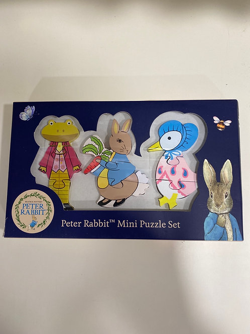 Peter Rabbit mini puzzle set
