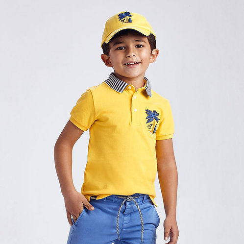 Embroidered  Polo    3102