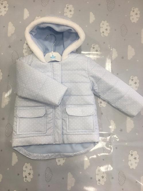 Sardon fleece lined parka type jacket A2OAB 17