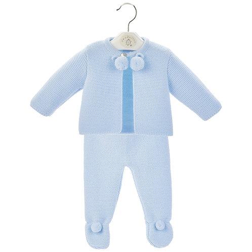 Boys 2 Piece Pom Pom Suit