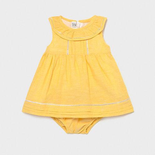 Linen 2 Piece Dress & pants  1834