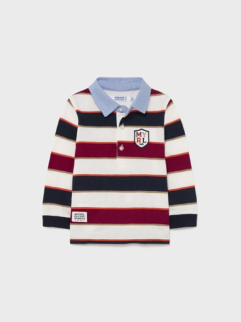 2140 Mayoral Long Sleeve Polo