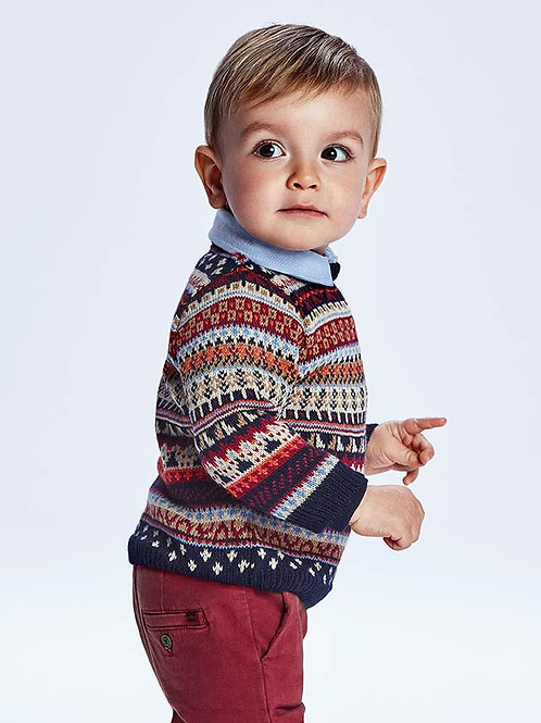 2376 Jacquard Sweater