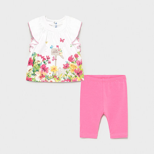 Girls Leggings and T-shirt set    1.707