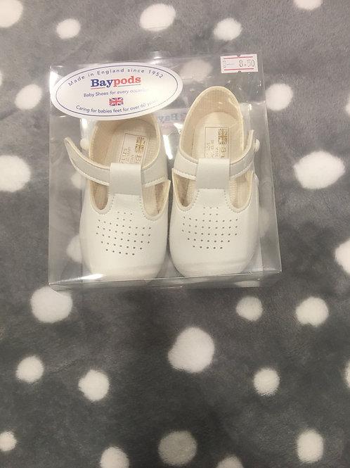 Baypod white soft sole shoe