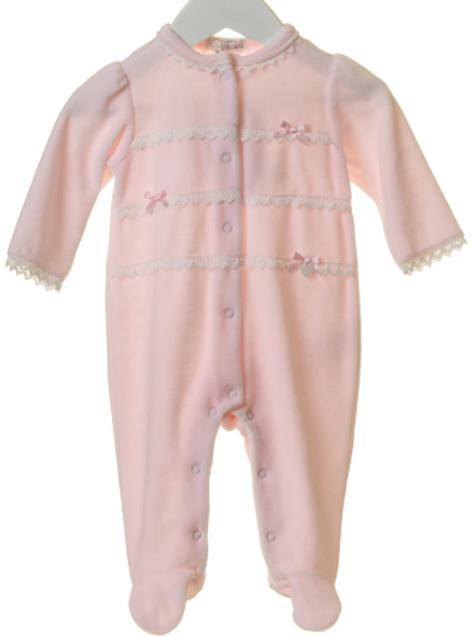 BB0172 Pink Babygrow