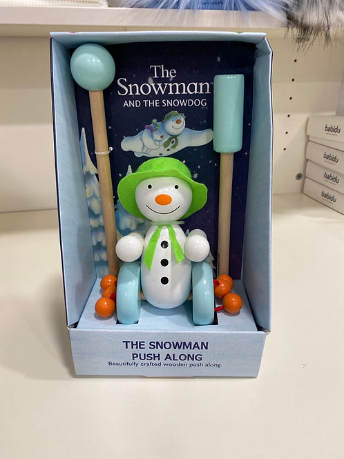 The Snowman push along
