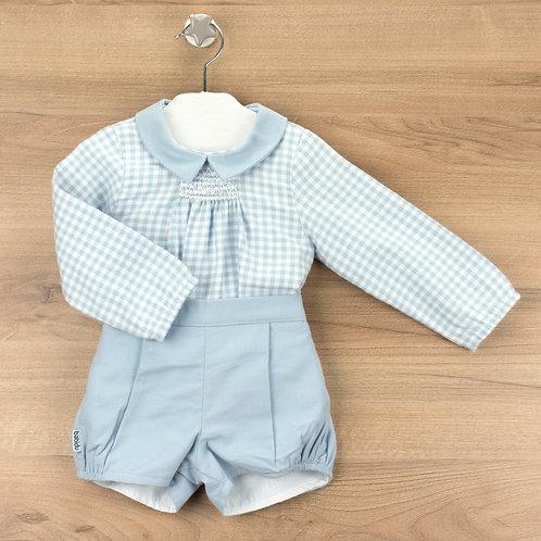 Babidu 41308, Valencia short and shirt with collar