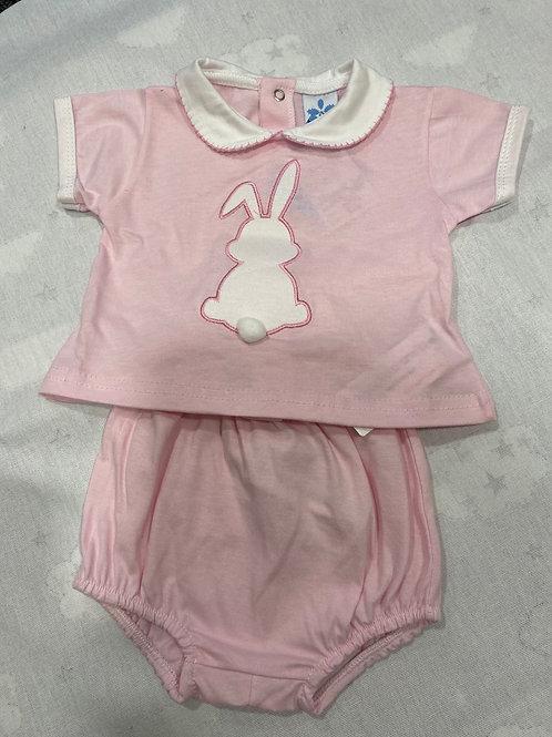 Girls 2 piece set with Bunny